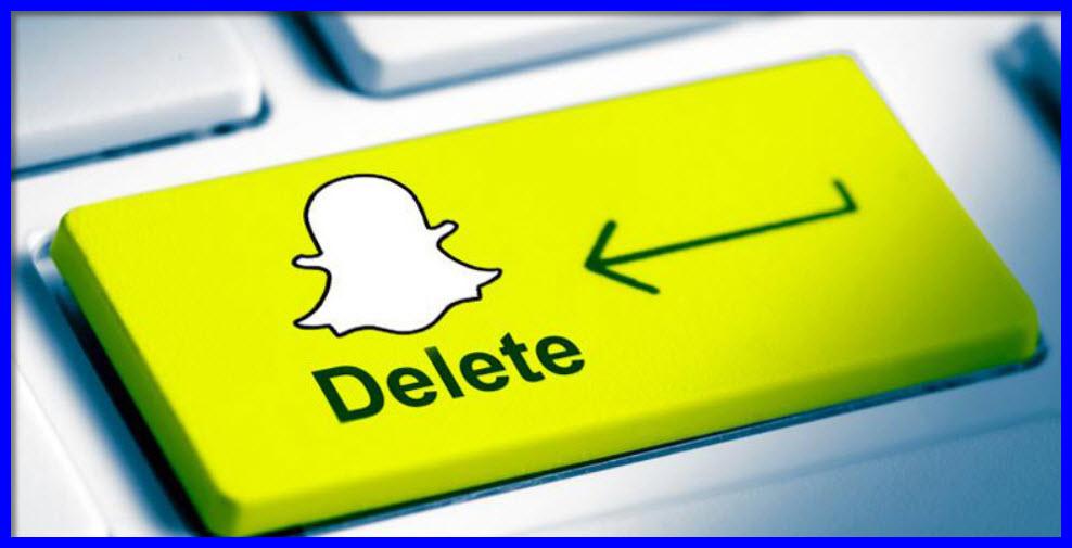 désinscrire de Snapchat
